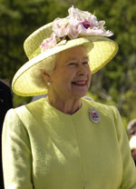 image for Queen Elizabeth II Now Carries iPad in her Hat