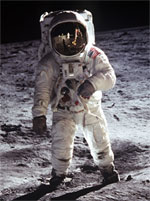 image for Moon Landing 40th eclipsed by Jacksons Fake Moon Walk video