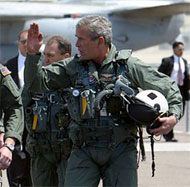 image for Bush Denied Re-Entry to US