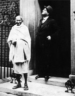 image for Madonna Gandhi visits Calcutta