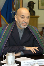 image for Iran Helps Karzai