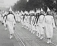image for KKK Image Shaken By Gay Bias Claim