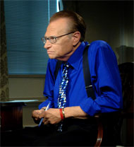 image for Obama Names Larry King to Head CIA! Vows to Never,Never Piss off Terrorists!