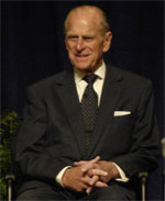 image for Prince Philip succumbs to mad cow disease