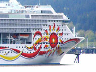 image for Graffiti Bandit Damages Cruise Ship
