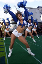 image for Dallas Cowboys Cheerleaders Vow To Protect Border