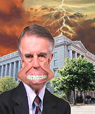image for Godless Senator Pete Stark Struck By Lightning
