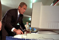 image for George Bush attends Job Fair