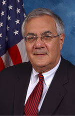 image for Barney Frank declares himself Don Quixote, takes on internet gambling