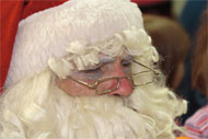 image for Santa? A Role Model? Enough already! Give him a break!