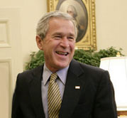 image for Bush OK's Trickle Down Aid to Katrina Victims