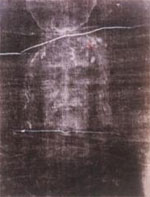 image for Goody's wedding dress 'turning into a new Turin Shroud'