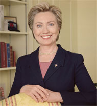 image for Hillary Looking Forward To Secretary Of State Position