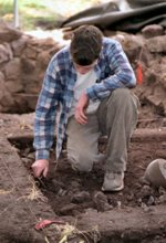 image for Archaeologists unearth Jesus' wank flannel
