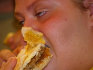 image for Vegetarian Freaks Out - Orders Bacon Sandwich Then Goes On Meat Binge