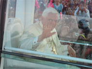 image for Pope Benedict forgives the heathen