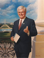 image for Newt Warns GOP: Change or Die!