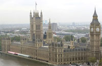 image for Gorillas Stage Rooftop Protest At Palace Of Westminster