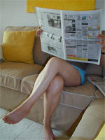 image for A Woman Living In Stockholm Sweden Subscribes To 19 Different Newspapers