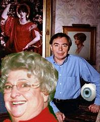 image for Claire Rayner's Glass Eye Collection Stolen: Lloyd-Webber Prime Suspect.