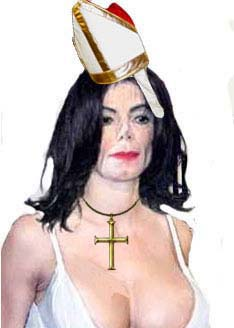 image for Michael Jackson Stripped of Papacy