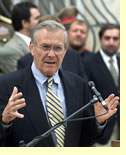 image for Rumsfeld to expand Cabinet, expand Cabinet