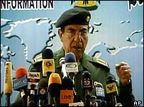 """image for """"Comical Ali"""" Denies Interim Government Exists"""