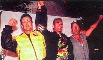 image for Schwarzenegger to leave Governorship for Tarantino's World War II Epic?