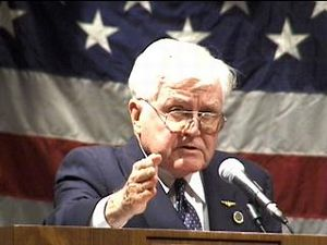 image for Vice Admiral James Stockdale Begins Stumping as Third-Party VP Candidate