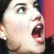 Monica lewinsky facial