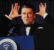 image for Ronald Reagan Apparition shows up at TIVO Convention