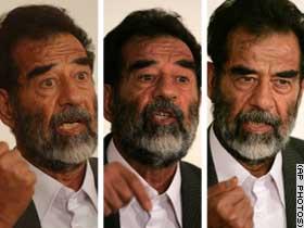 image for Saddam Hussein Endorses Bush/Cheney for 2004