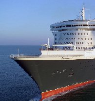 image for Hollywood Film Industry confesses disappointment as Queen Mary 2 arrives in NY without incident.