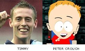 image for It's confirmed, Peter Crouch is Timmy...!!!