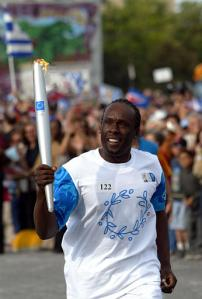 image for Olympic Athlete Lets Torch go Out