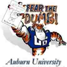 "image for Auburn Football Announces ""Fear the Dumb"" Campaign"