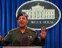 image for Bush hires former Iraqi Minister of Information to replace McClellan