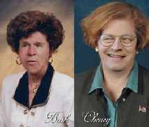 image for Bush and Cheney Undergo Extreme Makeovers