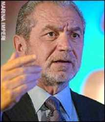 "image for Sir Alan Sugar Tells UK Prime Minister, ""You're Fired!"""