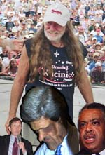 image for Sharpton, Kuncinich, Nelson Beat the crap out of Kerry