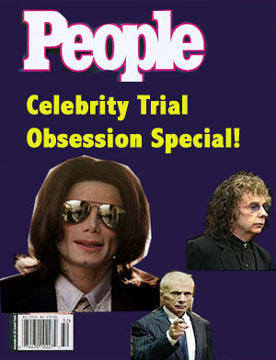 image for Michael Jackson and Robert Blake Form Celebrity Trial Cartel