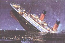 image for RMS Titanic Struck Faux-Iceberg